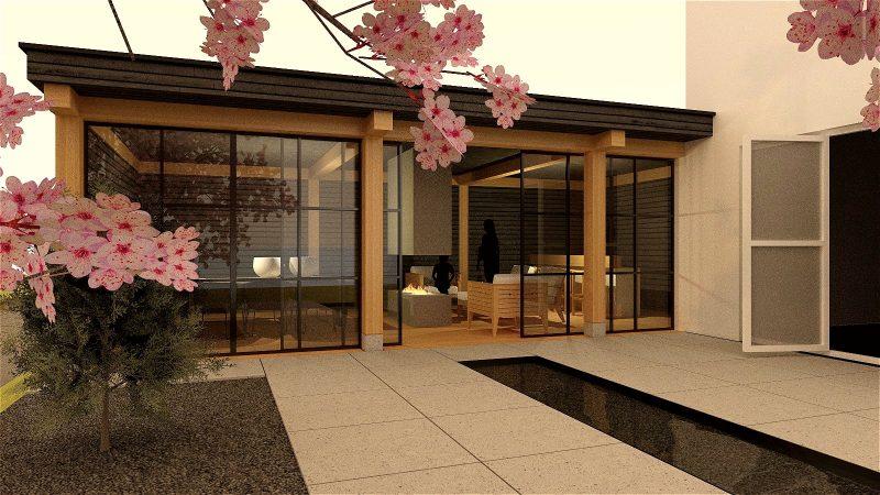 Architect urbanism en design jury - Ontwerp tuinhuis ...